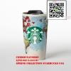 !!Starbucks USA แท้และสวยโดน#Double Wall Ceramic Globe Traveler - 12 fl ozใบนี้สวย Art Hipsterต้องชอบ เหมาะเป็นของขวัญและเก็บสะสมอย่างมากBy Cherrynatshopนำเข้าStarbucks USAแท้ใหม่ไร้ตำหนิและที่สำคัญหายาก