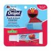 ชุดเจลทำความสะอาดเหงือกและฟันพร้อมปลอกนิ้ว Baby Orajel Tooth & Gum Cleanser with Finger Brush - Elmo Sesame Street (Fruity Fun)