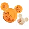 ชุดจานรับประทานอาหารสุดน่ารัก Disney Mealtime Magic - Hi! 2 Piece Icon Plate Set (Winnie the Pooh)