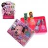 ชุดสีทาเล็บปลอดสารพิษสำหรับเด็ก TownleyGirl Confetti Nail Polish Set with Water Case (Minnie Mouse)