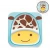 จานอาหารแบ่ง 2 ช่องสำหรับเด็ก Skip Hop รุ่น Zoo Plate (Giraffe)