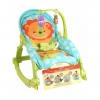 เปลโยกสั่นอัตโนมัติและเก้าอี้โยกปรับระดับได้ Fisher-Price Newborn-To-Toddler Portable Rocker (Lion)