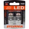 T20 W21W Sylvania ZEVO Super Bright LED RED ส่งฟรี EMS