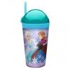 แก้วพร้อมหลอดดื่มสำหรับบรรจุเครื่องดื่มและของว่าง Zak!Snack Tumbler 2-in-1 Snack Cup (Frozen)