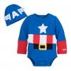 ชุดคอสตูมบอดี้สูทเบบี๋สุดน่ารัก Disney Baby Costume Body Suit (Captain America)