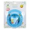 ชุดรับประทานอาหารสำหรับเด็ก Disney Baby Microwave Safe Baby Set (Winnie the Pooh)