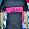 Cycologistz ผ้า Jersey : Ciclista pink Color