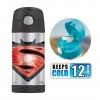 กระติกน้ำสเตนเลสรักษาอุณหภูมิ Thermos FUNtainer Vacuum Insulated Stainless Steel Bottle 12OZ (Batman V Superman)
