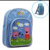 กระเป๋าเป้สะพายหลังสำหรับเด็ก Peppa Pig Under the Rainbow Backpack for Kids