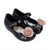 รองเท้าสุดหรูแสนงดงามสำหรับลูกสาว Mini Melissa รุ่น Ultragirl Beauty & the Beast (Rose & Black)