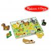 ชุดตัวต่อจัมโบ้รูปสัตว์เลี้ยง Melissa & Doug รุ่น Fresh Start Chunky Puzzly - Pets