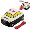 กล่องอาหารกลางวันและของว่าง Skater Tomica Bento Lunch Box (Police Car)