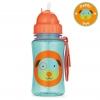 กระติกน้ำชนิดหลอดดูดพร้อมฝาปิด Skip Hop รุ่น Zoo Straw Bottle (Dog)