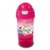 กระติกน้ำพร้อมหลอดดื่มสำหรับบรรจุเครื่องดื่มและของว่าง Sip N Snack Bottle (Peppa Pig Pink)