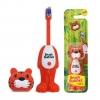 แปรงสีฟันเด้งดึ๋งปลอดสารพิษ Brush Buddies Poppin' Toothbrush (Toothy Toby)