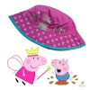 หมวกปีกสำหรับเด็ก Peppa Pig Pink Hat with Flowers