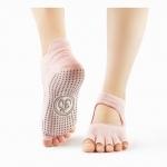 ถุงเท้าโยคะ กันลื่น YKA70-12-1