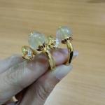 แหวนไหมทองสอดหางช้าง รหัสสินค้า INJ 941
