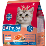 Cat'n Joy Adult Salmon แคท เอ็น จอย แมวโต สูตรแซลมอน 1.2 KG x 2 ถุง