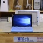 Microsoft Surface Pro 4 Core i5-6300U 2.4GHz RAM 8GB SSD 256GB FullBox + Type Cover Warranty 09-07-61