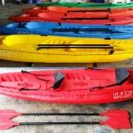 เรือคายัคพลาสติก Plastic Kayak boat