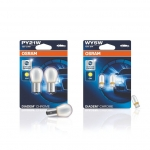 SET of OSRAM Diadem Chrome PY21W + WY5W Styling Indicator