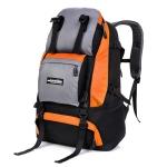 NL16 กระเป๋าเดินทาง สีส้ม ขนาดจุสัมภาระ 40 ลิตร