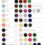 โทนสีเสื้อผ้าเข้าชุด มาดูกันค่ะว่าสีไหน เข้ากับสีไหนกันบ้าง