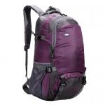 NL04 กระเป๋าเดินทาง สีม่วง ขนาดจุสัมภาระ 45 ลิตร