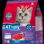 Cat'n Joy Adult Tuna แคท เอ็น จอย แมวโต สูตรปลาทูน่า 1.2 KG x 2 ถุง