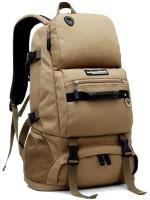 NL21 กระเป๋าเดินทาง สีกากี ขนาดจุสัมภาระ 40 ลิตร