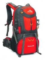 NL17 กระเป๋าเดินทาง แดง ขนาดจุสัมภาระ 50 ลิตร