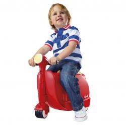 กระเป๋าเดินทางขับขี่ได้สำหรับเด็ก Skoot Children's Ride-On Suitcase (Racing Red)
