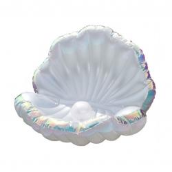 พูลโฟลทหอยมุกยักษ์ Pool Float Giant Sea Shell with Pearl