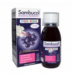 วิตามินเสริมสร้างภูมิคุ้มกันสำหรับเด็ก Sambucol Black Elderberry For Kids
