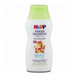 แชมพูสระผมพลังม้า HiPP Baby Sanft Gentle Shampoo (200ml.)