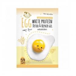 เจลโปรตีนไข่ขาว Gel Detox & Repair ผิวหน้า