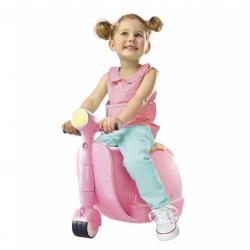 กระเป๋าเดินทางขับขี่ได้สำหรับเด็ก Skoot Children's Ride-On Suitcase (Candy Pink)