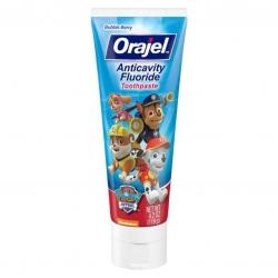 ยาสีฟันผสมฟลูออไรด์สำหรับเด็ก Orajel Anticavity Fluoride Toothpaste (Paw Patrol)