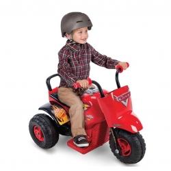 มอเตอร์ไซค์สามล้อแบตเตอรี่สำหรับเด็กเล็ก Huffy Disney Cars 3 Motorcycle Trike 6-Volt Battery-Powered Ride-On