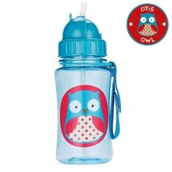 กระติกน้ำชนิดหลอดดูดพร้อมฝาปิด Skip Hop รุ่น Zoo Straw Bottle (Owl)