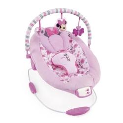 เปลสั่นอัตโนมัติสำหรับเบบี๋ตัวน้อย Bright Starts Disney Baby Minnie Mouse Precious Petals Bouncer