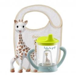 ชุดของขวัญยีราฟโซฟีสุดคุ้ม Vulli Sophie la Girafe Non-Spill Cup Set