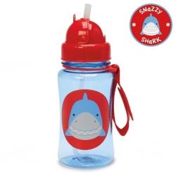 กระติกน้ำชนิดหลอดดูดพร้อมฝาปิด Skip Hop รุ่น Zoo Straw Bottle (Shark)
