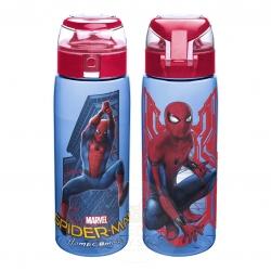 กระติกน้ำแบบยกดื่ม Zak! Tritan Water Bottle with Flip Top Cap and Loop (Spider-Man: Homecoming)
