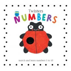 หนังสือเสริมทักษะสำหรับเด็กเล็ก Twisters - Numbers