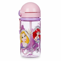 กระติกน้ำพร้อมหลอดดื่มน้ำ Disney Canteen for Kids (Disney Princess)