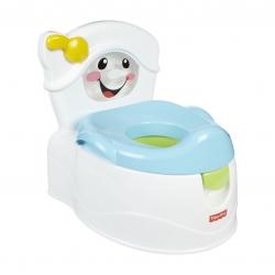 กระโถนฝึกขับถ่ายทรงชักโครกสุดน่ารัก Fisher-Price Learn to Flush Potty