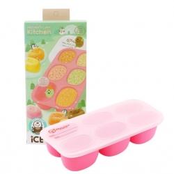 กล่องซิลิโคนสำหรับแช่แข็งอาหารพร้อมฝาปิด Mother's Corn Kitchen Ice Ecotainer (Pink)