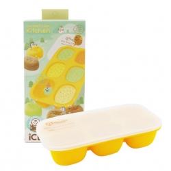 กล่องซิลิโคนสำหรับแช่แข็งอาหารพร้อมฝาปิด Mother's Corn Kitchen Ice Ecotainer (Yellow)